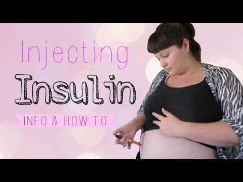 Insulin Injections With Gestational Diabetes | Info & How To