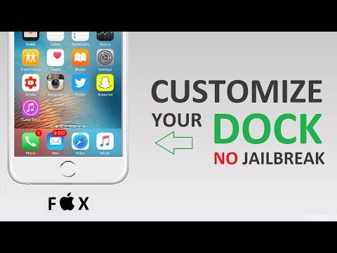 Customize your dock - No Jailbreak