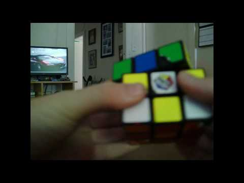 rubix 3x3 checkerboard patten tutorial