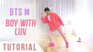 Download BTS - 'Boy With Luv' Dance Tutorial (Explanation + Mirrored) | Ellen and Brian Video