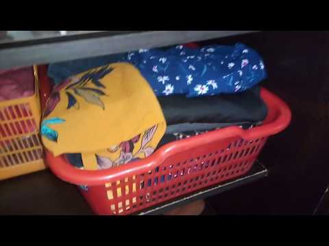 Indian Wardrobe Organization    How I Organize My Almira- Vlogs with Divya