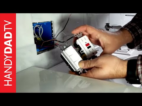 Installing the Lights, Triple Switch & GFCI Outlet   Master Bath Remodel (Part 9)