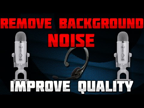 [TUTORIAL] LIVE Remove Background Noise and Better Mic Sound Output