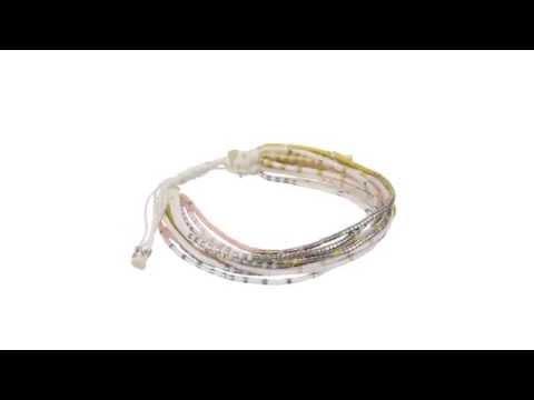Chan Luu Multi Strand Seed Bead Single Bracelet SKU:8393788