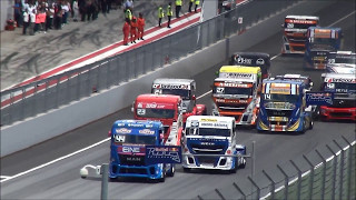 Truck Race Trophy Red Bull Ring Crashes 2017