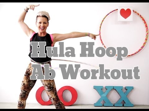 5 minute Hula Hoop Workout - How I Eat Chocolate Everyday and Stay in Shape