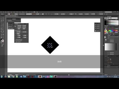 How to create a rhombus