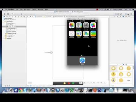 iOS Application Development Tutorial 1: Basics of iOS 7 and Xcode 5