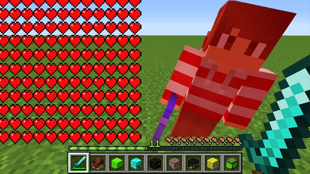 Minecraft Manhunt, But Kills Multiply Your Health...