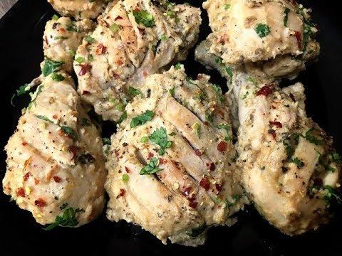 Spicy Yogurt Chicken Roast Without oven/Yogurt Chicken Recipe/Yogurt Chicken
