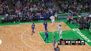 2nd Quarter, One Box Video: Boston Celtics vs. Philadelphia 76ers