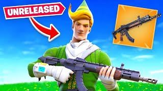 We Glitched this Unreleased Gun in Fortnite... (NEW AK)