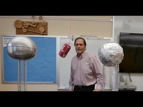 Static Electricity part two Conduction-Induction // Homemade Science with Bruce Yeany