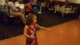 2 Year Old Belly Dancing - Adorable!