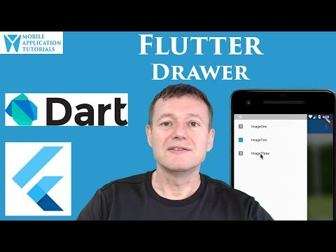 Flutter navigation drawer tutorial