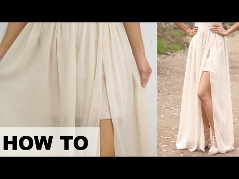 TT26 HOW TO - Hemming Chiffon