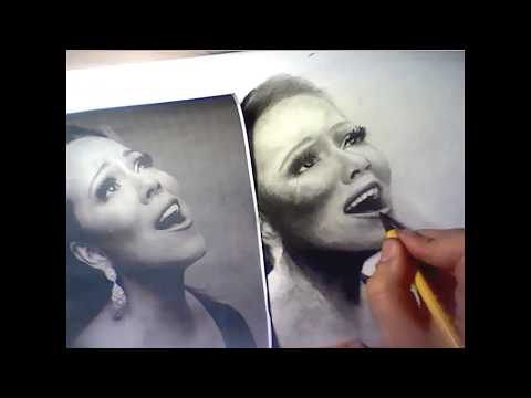 ᴴᴰ Mariah Carey Speed Drawing Almost Home