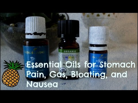 🍍 Essential Oils for Stomach Pain, Gas, Bloating, and Nausea