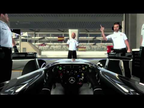 F1 2012 Demo - Gameplay (Xbox 360)