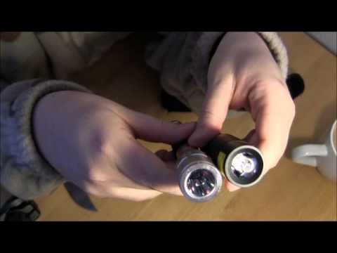 Lidl vs. Aldi 3 Watt Cree LED Taschenlampe / Flashlight