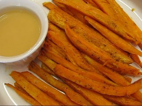 Betty's Baked Sweet Potato Fries and Dipping Sauce--ONE Campaign