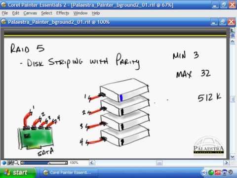 CompTIA A+ Video Training - RAID and SCSI