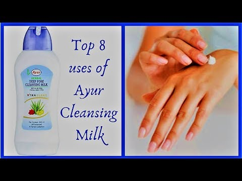 how to use ayur deep pore cleansing milk (in hindi)