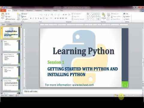 #1 Python   Getting Started with Python Downloading and installing Python