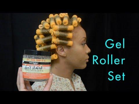 Curls, Coils & Kinks: Gel Roller Set