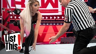 5 unforgettable wardrobe malfunctions: WWE List This!