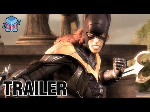 Injustice Gods Among Us BATGIRL Official Trailer