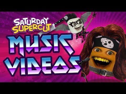 ALL Annoying Orange Music Videos!!! (Saturday Supercut)