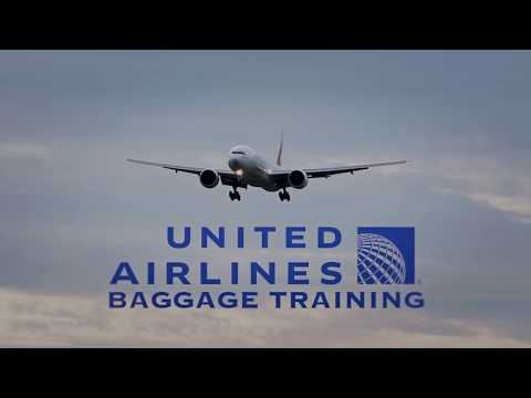 LEAKED United Airlines Baggage Training Video