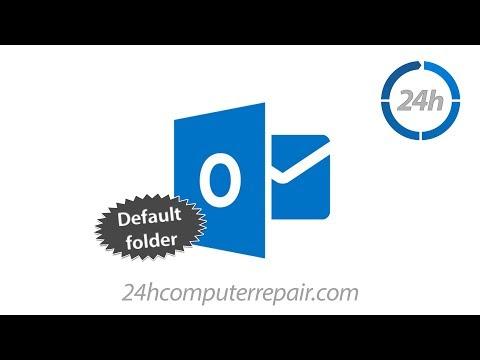 Migrating Outlook 2013 Default Folder