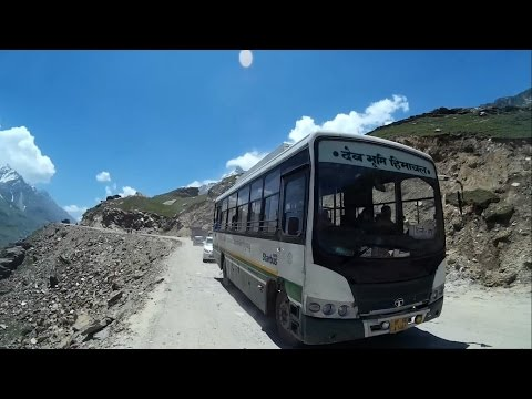 New Delhi to Leh Deadly Bus Route In World by HRTC