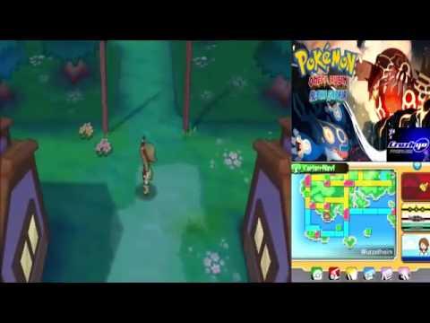 Let´s Play Pokemon Omega Rubin & Alpha Saphir German Part 75 Einall Starter & Deoxys Revanche