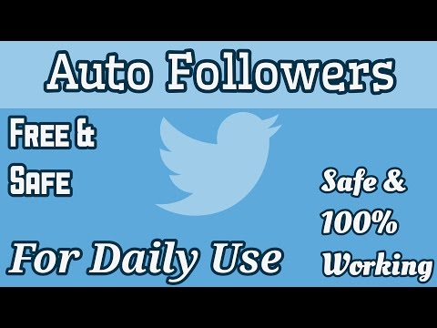 Auto Followers For Twitter | Best Method