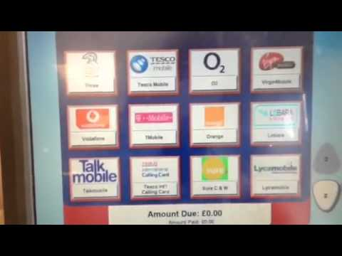 [Giffgaff] Buy top-up voucher at Tesco's self-checkout (中文字幕CC)