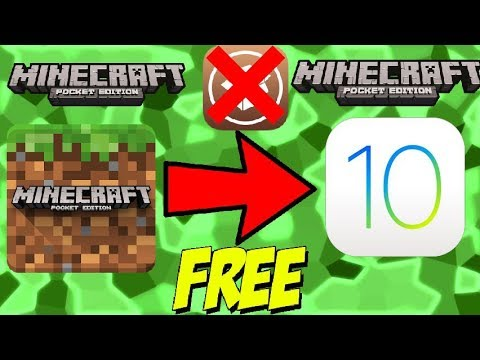 HOW to DOWNLOAD MINECRAFT POCKET EDITION for FREE on IOS (No Jailbreak)