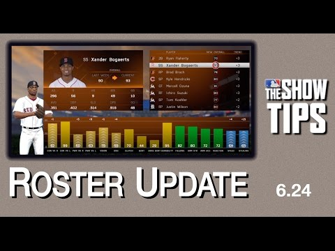 MLB The Show 16 - Roster Update (6.24)