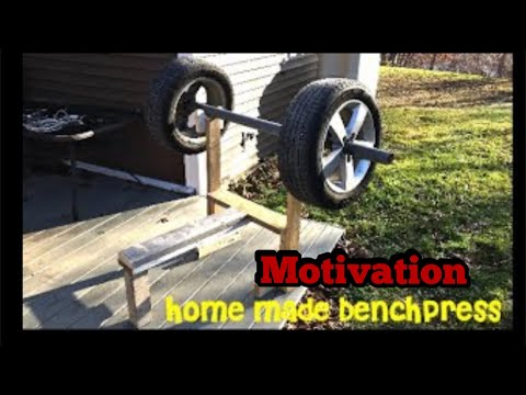 Do you really need a gym / homemade wooden benchpress, HoodPress