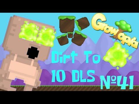 Growtopia - Dirt To 10 Diamond Locks (Ep. 41) TOXIC WASTE!!!!!