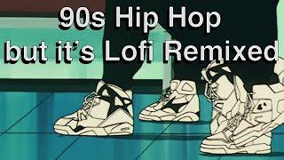 90s Hip Hop but it's Lofi Remixed   Tupac, Notorius BIG, Snoop Dogg, Ice Cube, Wu Tang Clan and Nas