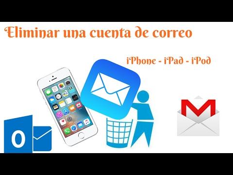 Como Eliminar una Cuenta de Correo en iPhone, iPad y iPod