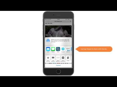 Skype 6.8 for iPhone and iPad