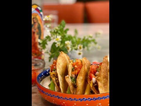 Homemade Crunchy Beef Tacos Recipe | Molé Mama