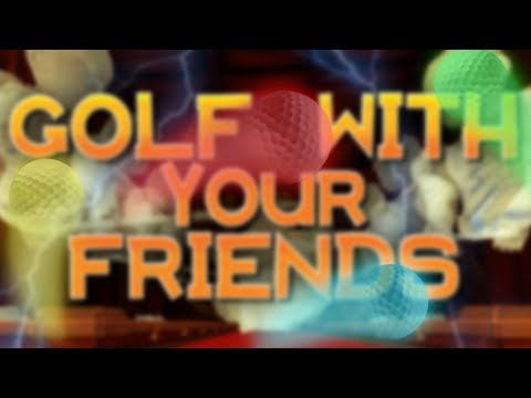 FOUR GUYS + YELLING! LOST MY VOICE? [Golf with your Friends] #2