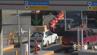 Tijuana Border Closure To Cause Massive Headaches For Drivers, Tourists Over Weekend