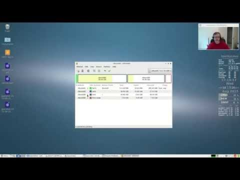 Partitioning a hard drive for dual booting Linux