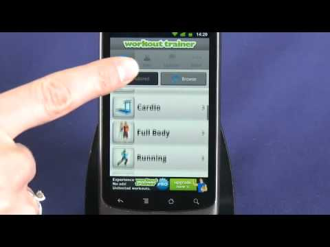 Workout Trainer for Android review